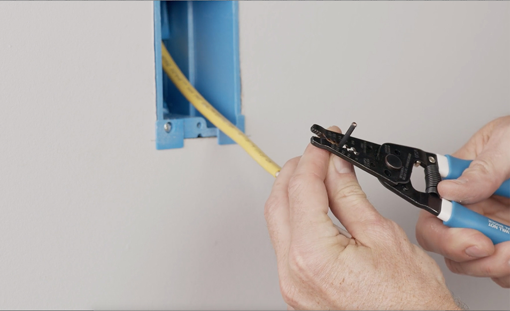 How To Add A Wall Switch To A Ceiling Fixture The Home Depot
