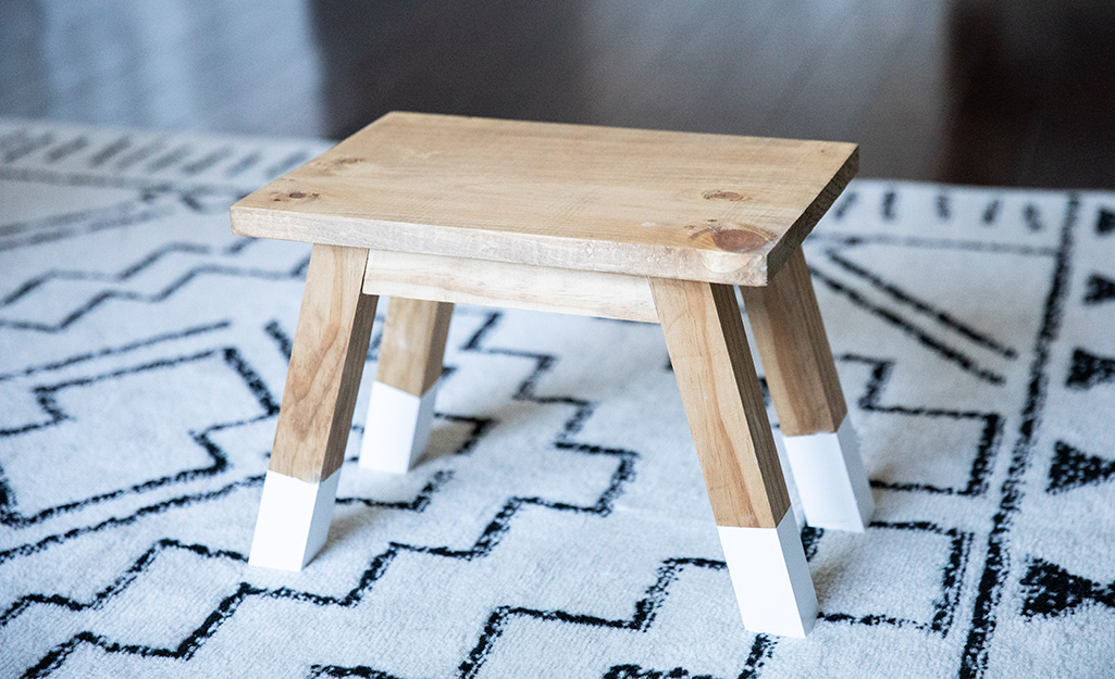 How To Build A Diy Step Stool The Home Depot