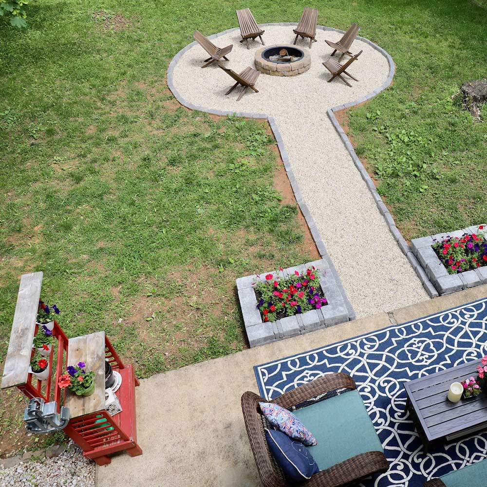 To Build A Diy Fire Pit With Seating Area
