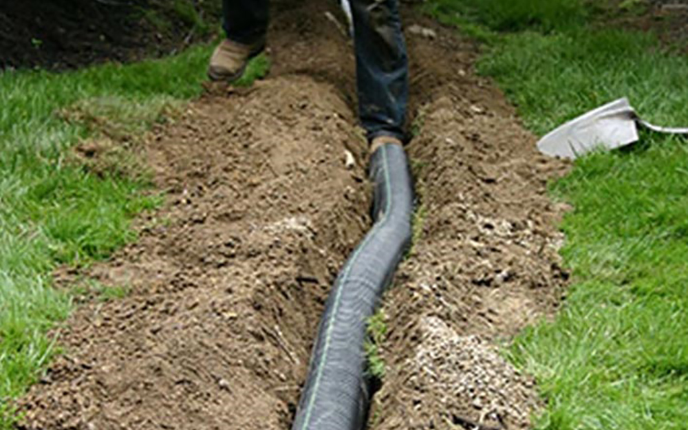 How to Install a French Drain - The Home Depot