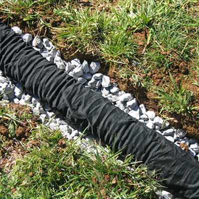 How To Install A French Drain The Home Depot