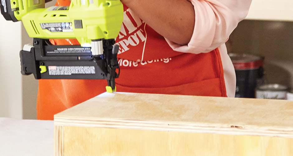 attaching-bottom-board-with-nailer
