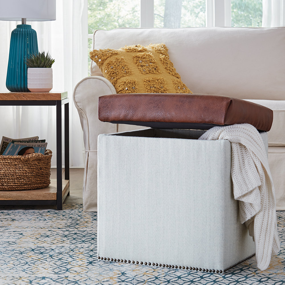 Excellent How To Build A Storage Ottoman The Home Depot Ibusinesslaw Wood Chair Design Ideas Ibusinesslaworg