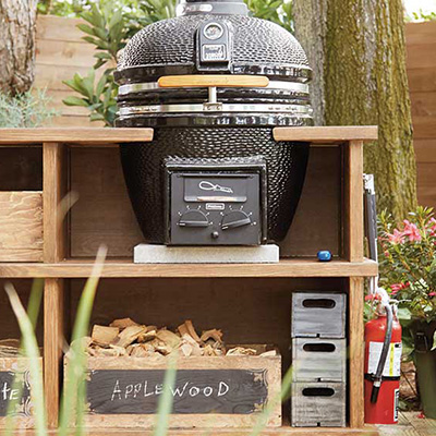 How To Build An Outdoor Grill Station The Home Depot