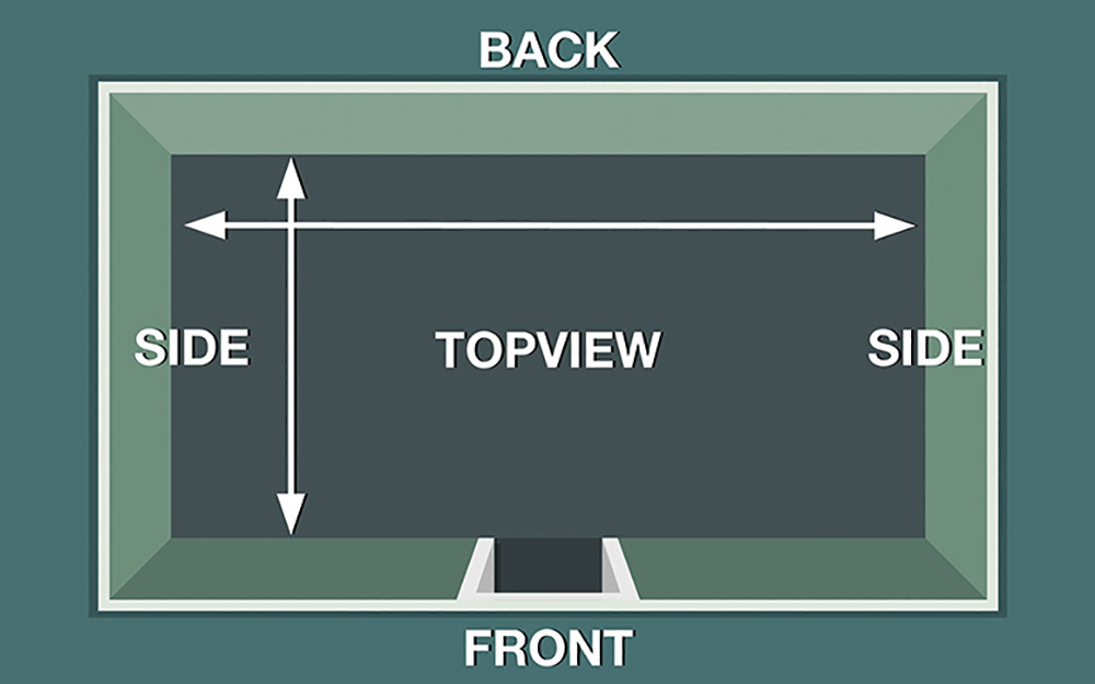 A Diagram Of How To Measure Your Closet For Diy System Organizer