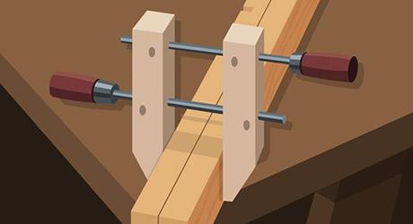 Build four end shelf supports - Building Utility Shelves