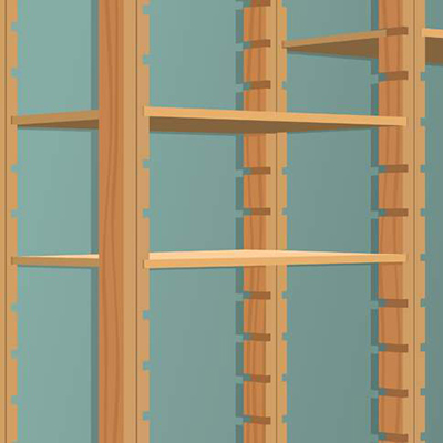 DIY garage shelves project guide