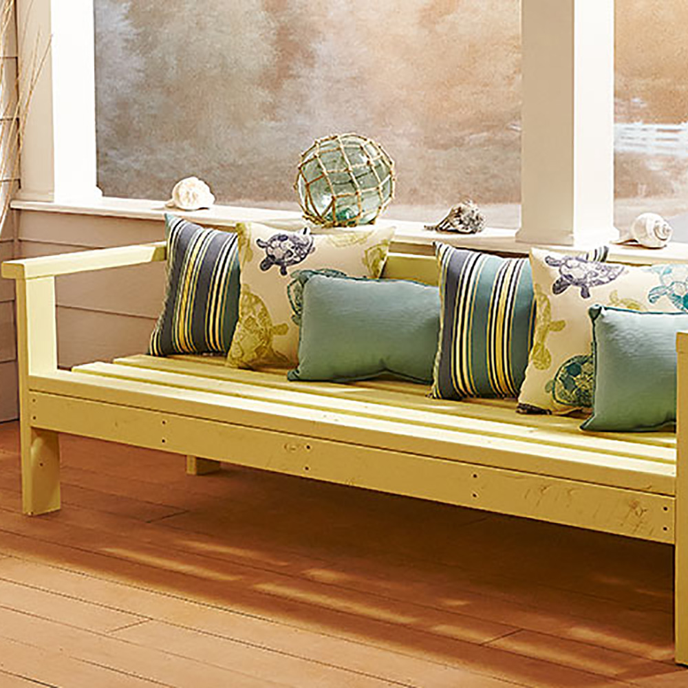 How To Build An Outdoor Sofa The Home