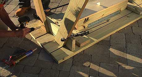 How To Build A Picnic Table The Home Depot