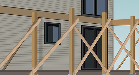 How to Build a Raised Deck - The Home Depot Simple Enclosed Decks For Mobile Homes on side decks for mobile homes, enclosed mobile home porch steps, prefabricated decks for mobile homes, small decks for mobile homes, portable decks for mobile homes, pool decks for mobile homes, wood decks for mobile homes,