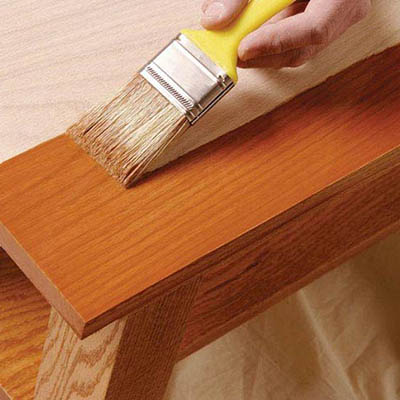 How To Stain Wood The Home Depot