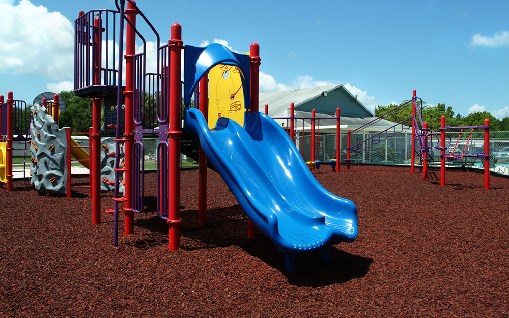 Kids Karpet playground mulch