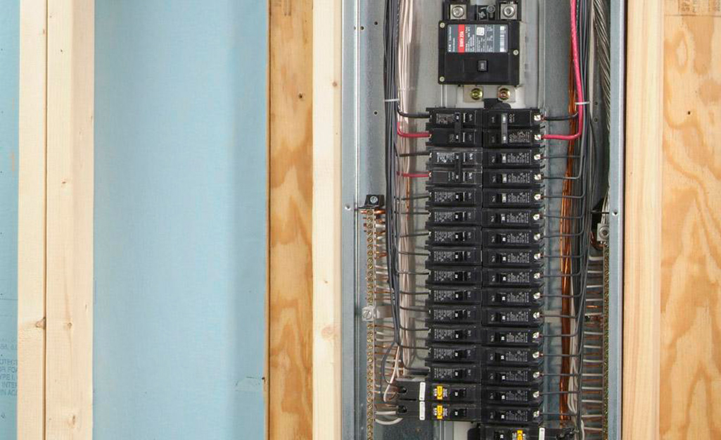 How to Buy Electrical Panels - The Home Depot | Two Breaker Outside Fuse Box |  | The Home Depot
