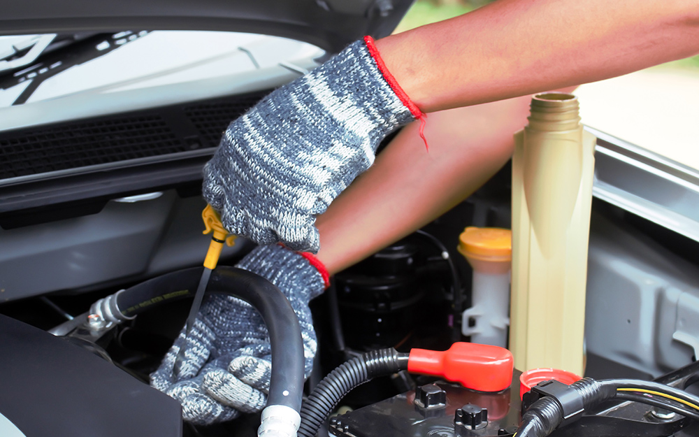 How Do You Check Transmission Fluid >> Checking Transmission Fluid The Home Depot
