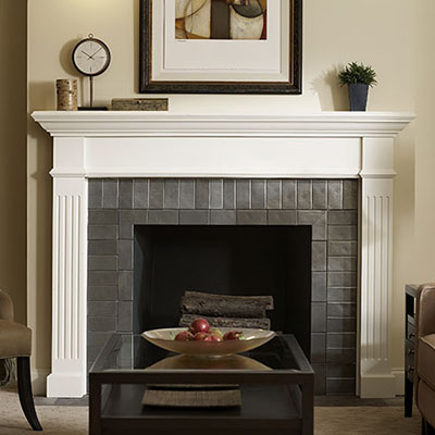 Types Of Fireplaces And Mantels The Home Depot