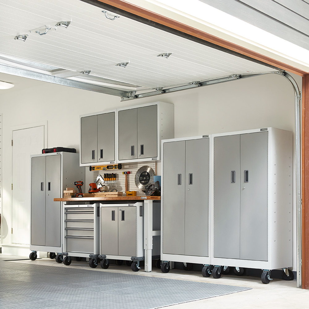 Creative Garage Storage Ideas