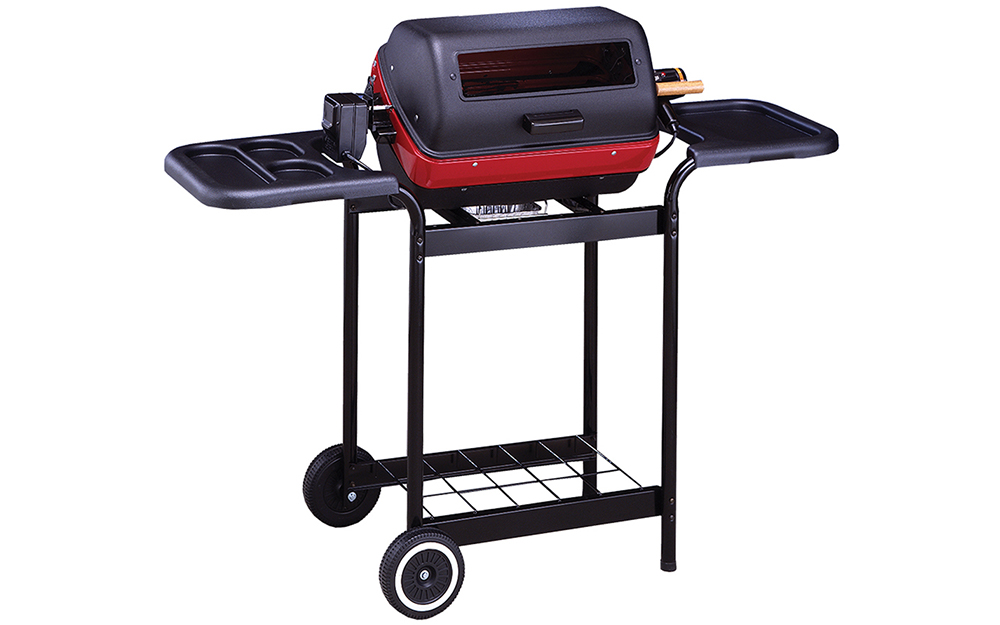 An electric grill on wheels. - Choosing the Best Grill for You
