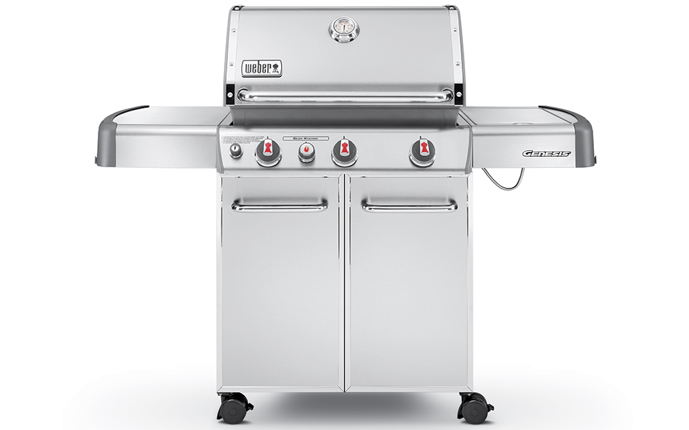 A stainless steel gas grill. - Choosing the Best Grill for You