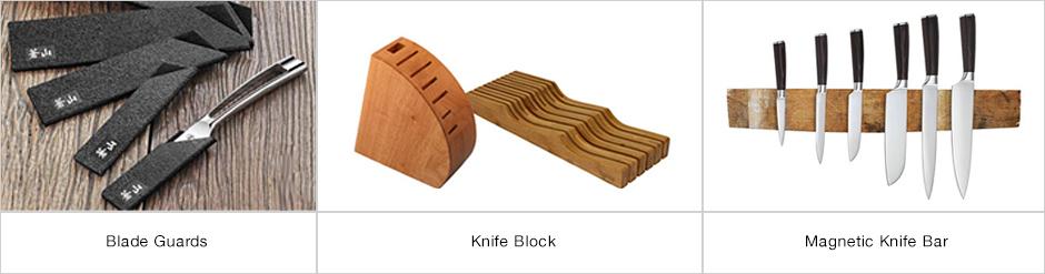 Blade guards/knife block/magnetic knife bar