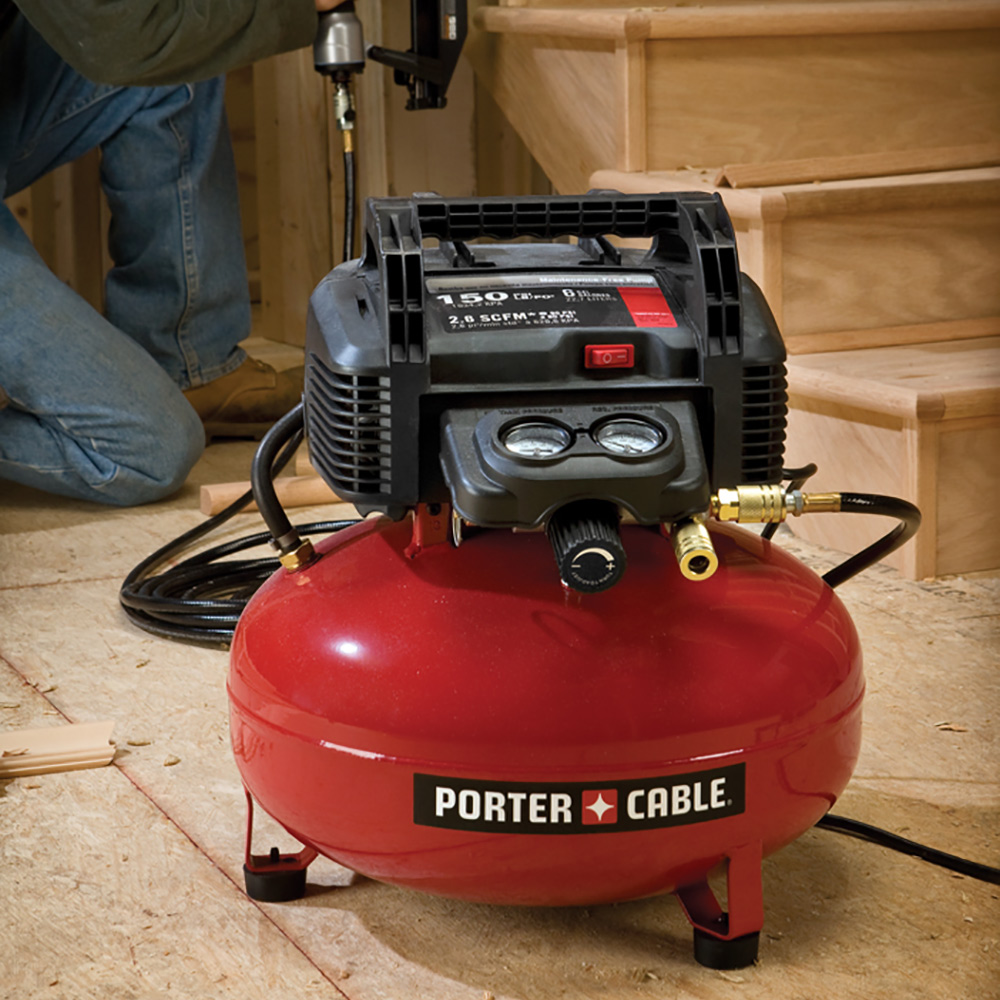 How To Use An Air Compressor >> Best Air Compressors For Your Project The Home Depot