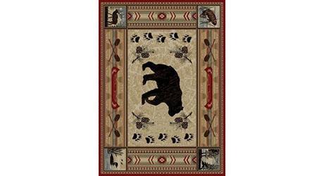 Lodge rug