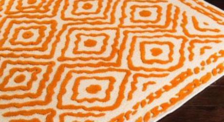 High-low rug
