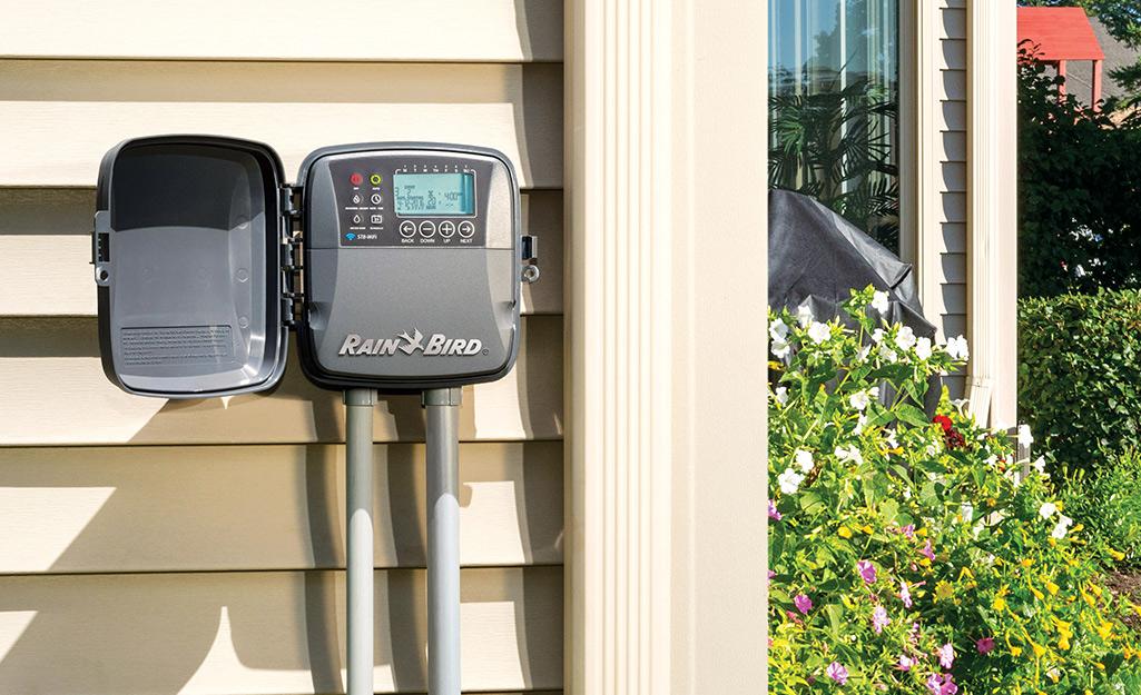A smart irrigation timer.