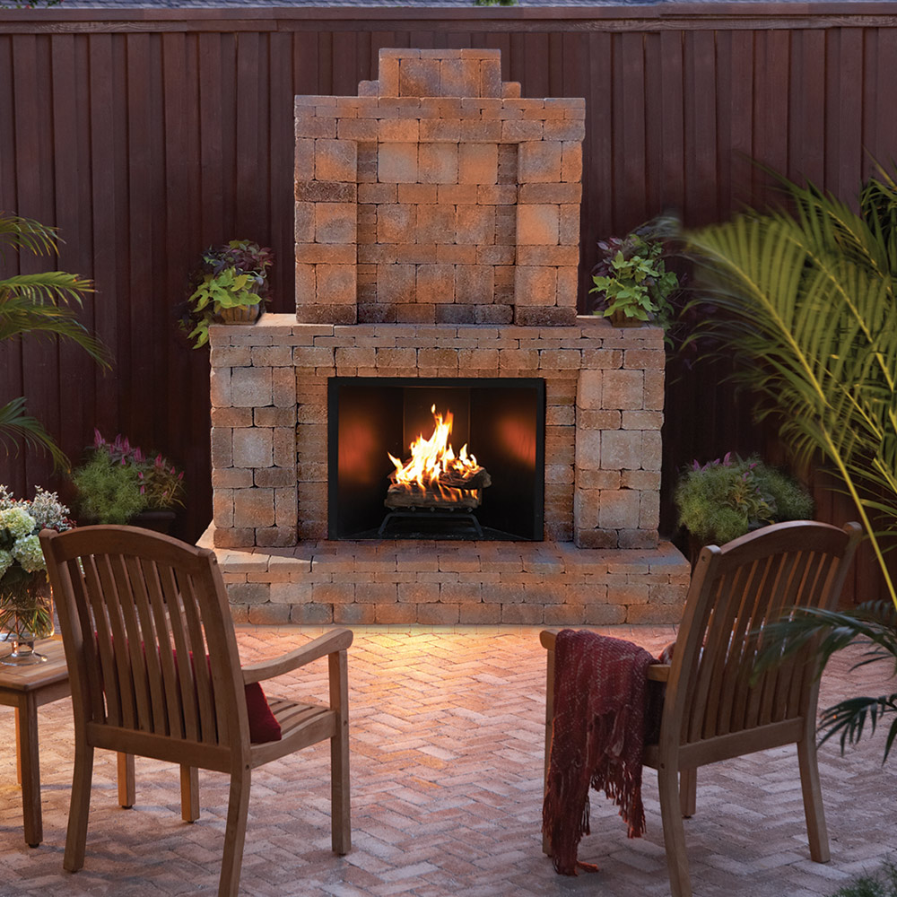 How To Choose An Outdoor Fireplace The Home Depot
