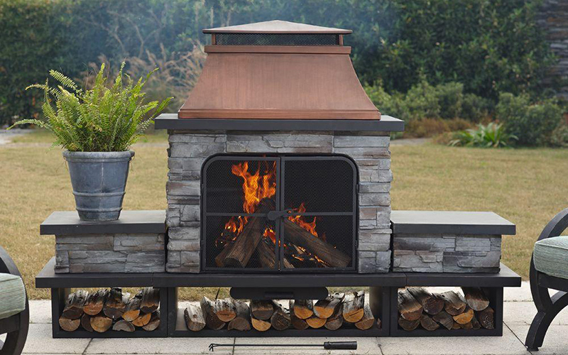 How To Choose An Outdoor Fireplace, Best Outdoor Fireplaces For Heat