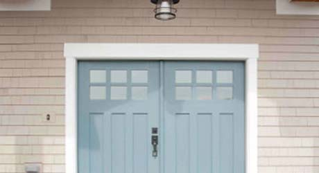 Painting doors and trim