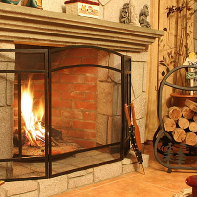best fireplace accessories for your home the home depot rh homedepot com