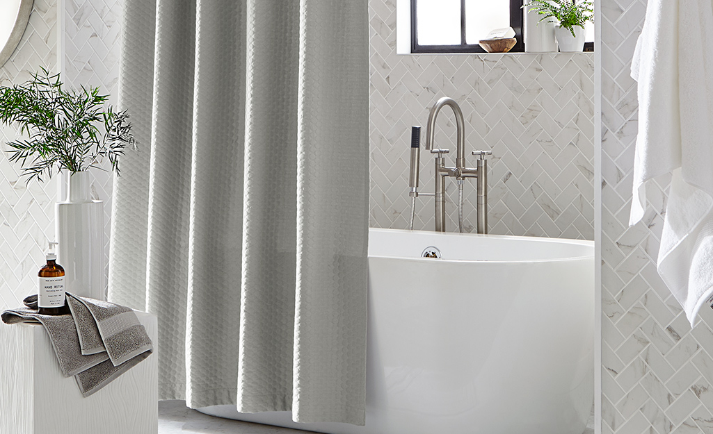 How To Clean Shower Curtains The Home Depot