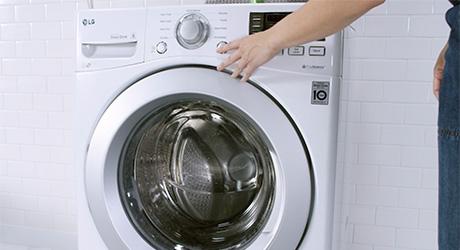 Starting cleaning cycle of washing machine