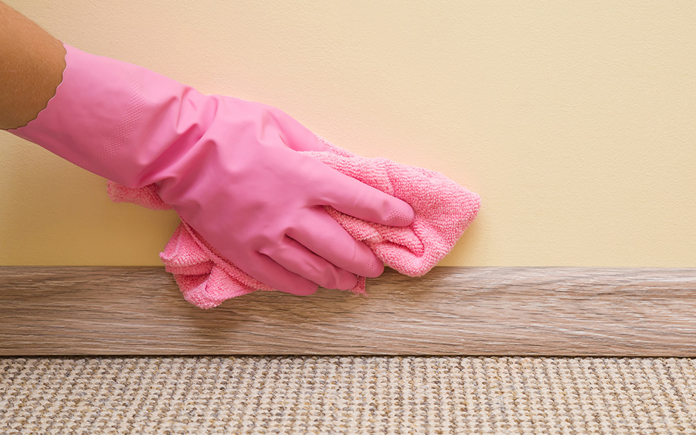 How To Clean Baseboards The Home Depot