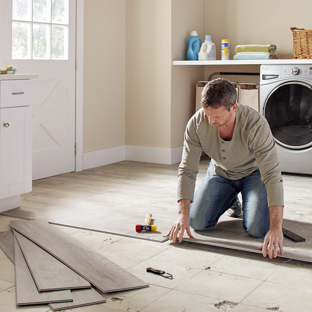 How To Clean Vinyl Flooring The Home Depot