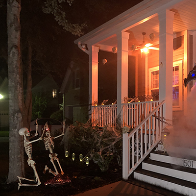 How to Create a Scary Halloween Porch