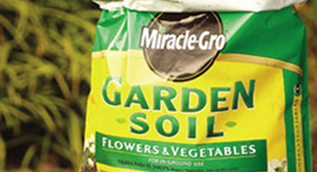 Add soil - Create Three-Season Garden Bed
