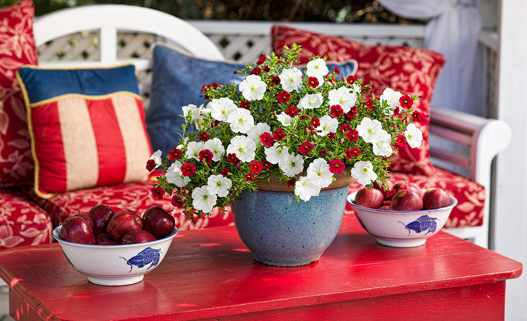 Red, White and Blue for Entertaining