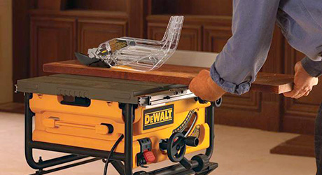 Safety tips - Cutting Ripping with Table Saw