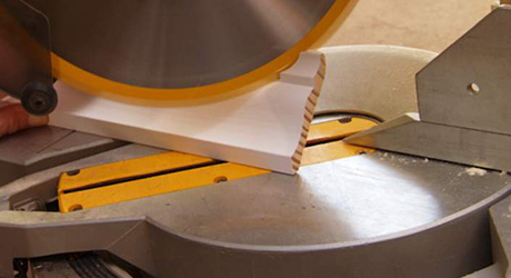 Layout mitre cope - Cutting  Cope Crown Moulding