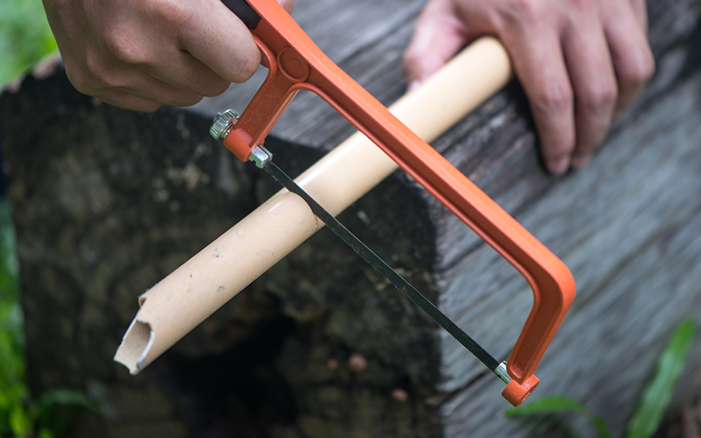 How to Cut PVC Pipe - The Home Depot