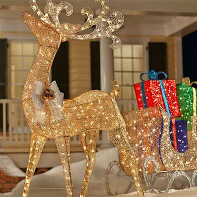 Creative Ways to Decorate with Christmas Lights