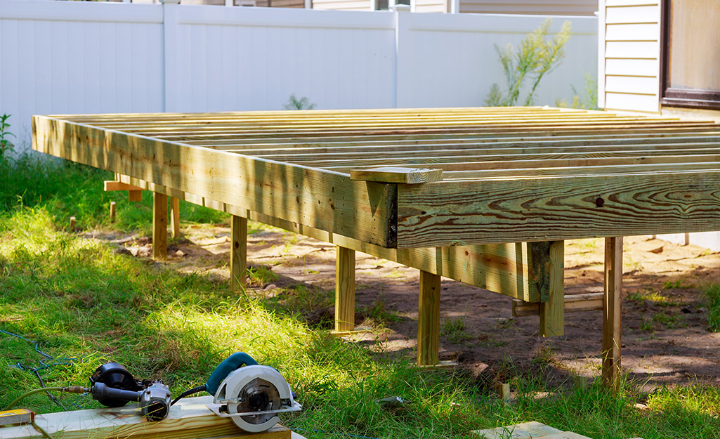 How To Estimate Deck Materials The Home Depot