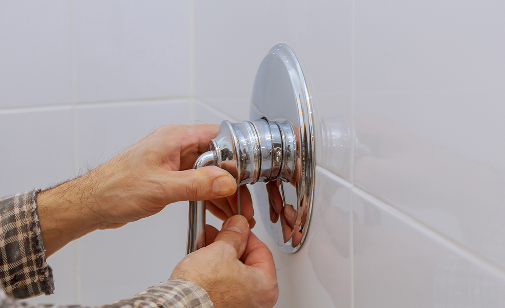 How To Fix A Leaky Shower Faucet The Home Depot