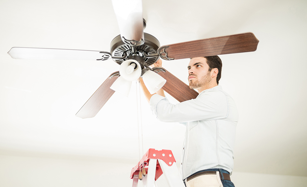 How To Fix A Noisy Ceiling Fan The