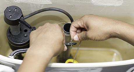 Adjusting chain better flush - Minor Adjustments Your Toilet