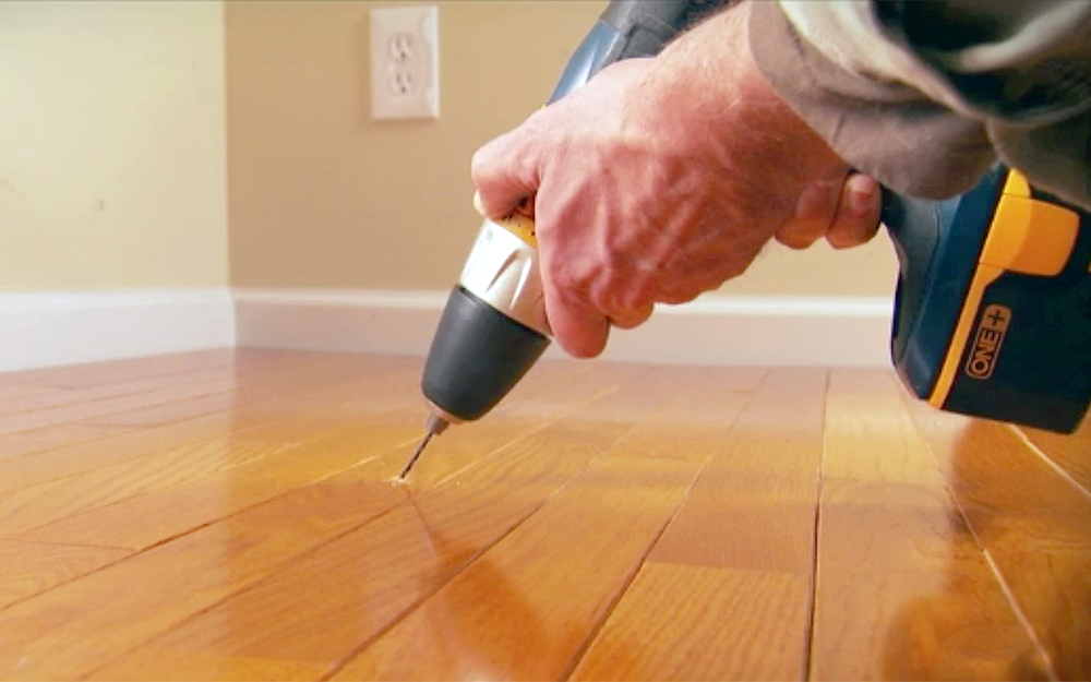 How To Fix Squeaky Floors The Home Depot
