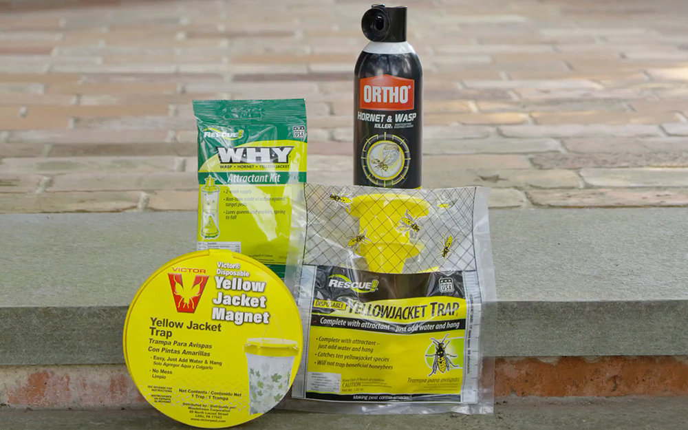 Yellow jacket pesticides.