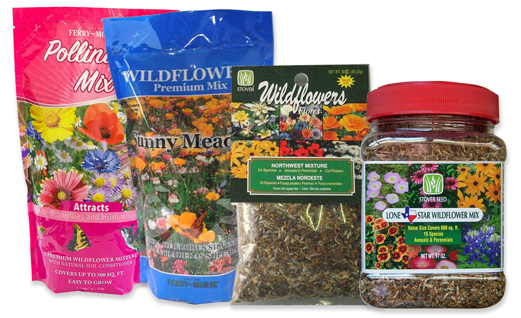Wildflower seed mixes