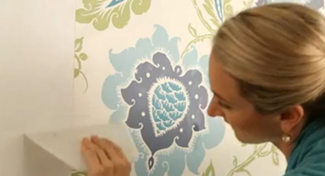 How To Hang A Wallpaper Border The Home Depot